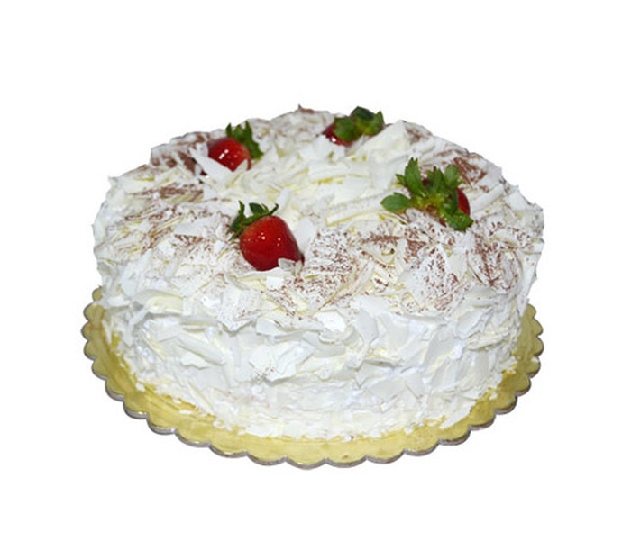 This is delightful and rich in taste. Enjoy the Taste of vanilla and white chocolate in a delicious cake.