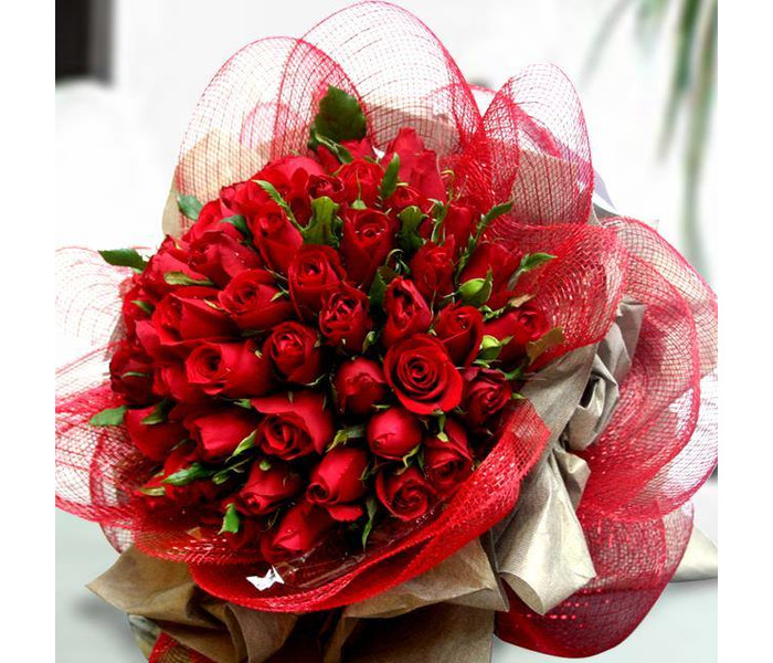 Romantic Flowers, Valentine Day Flowers, Red Roses - Dubai, Alain ...