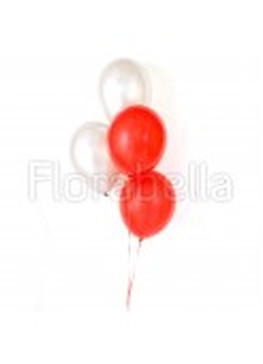 Red White Balloons